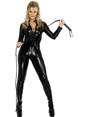 Kattkvinnan även känd som catwoman