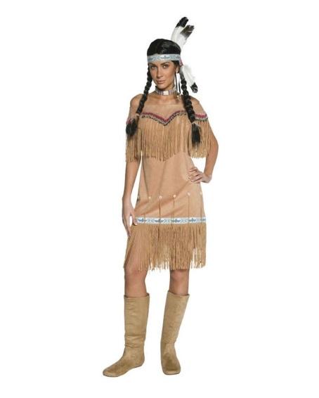Indiandräkt kvinna