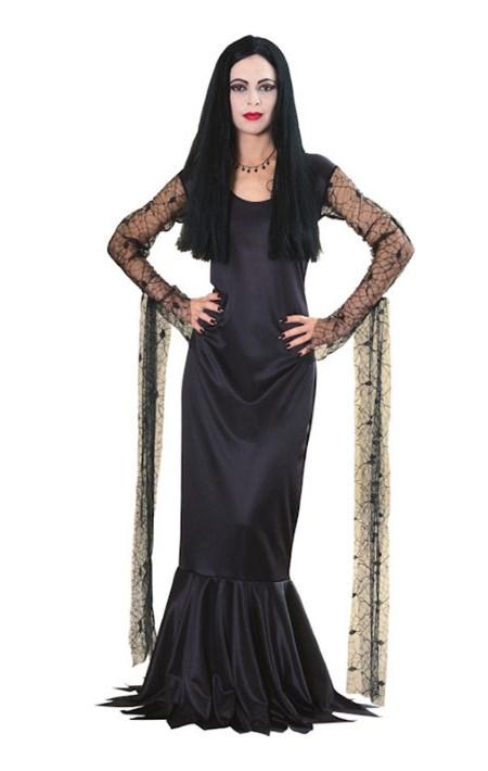 Morticia Addams maskeraddräkt