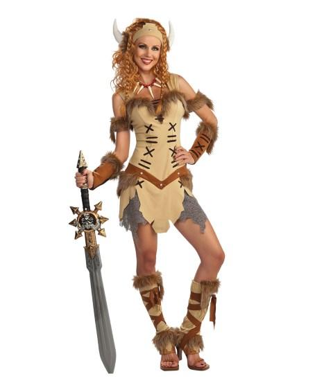 Vikingadräkt för kvinnor