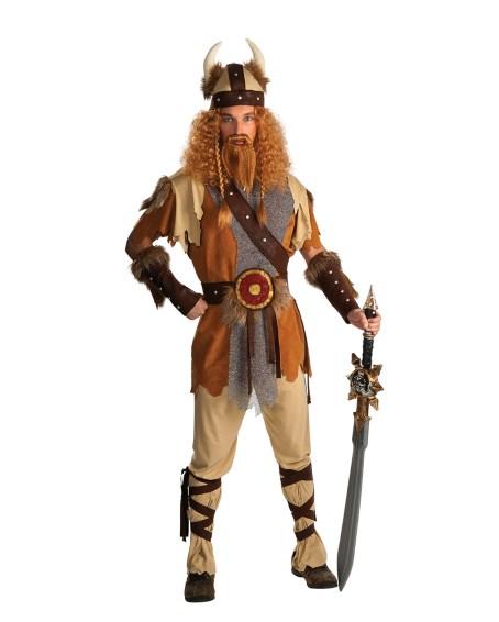 Vikingadräkt med horn